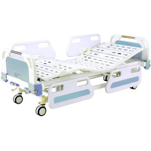 Hospital Furniture Two Funtion Movable Full-Fowler Medical Bed