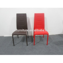 stainless steel legs dining chair