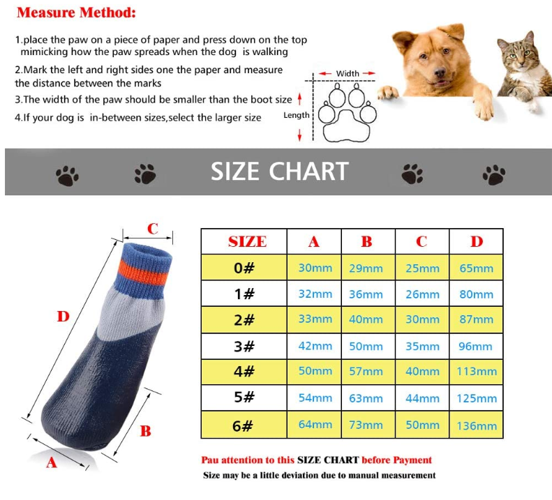 Waterproof Pet Dog Paw Sock
