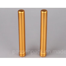 Goldenes Aluminium Zigarrenrohr für Kuba Tabak (PPC-ACT-001)