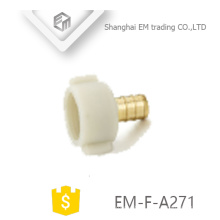 EM-F-A271 Pex fitting female threaded swivel adapter with plastic head