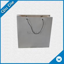 Saco de embalagem de papel impresso promocional para vestuário e sapatos