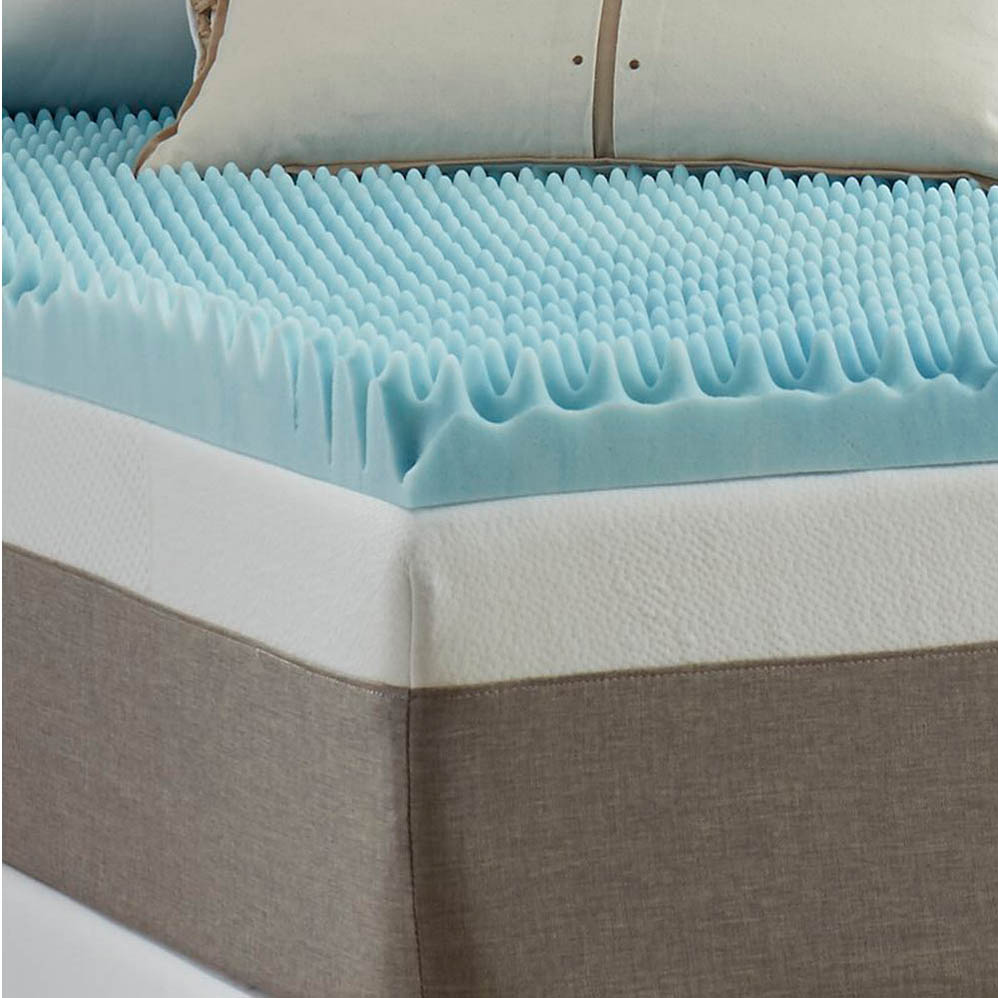 Twin Size Egg Crate Mattress Pad
