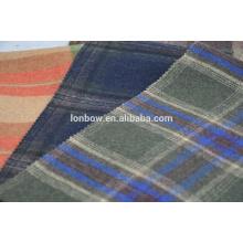 Тартан плед мелтон шерстяной ткани в ассортименте из Китая