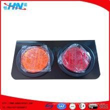 Amber-Red 24V impermeable LED camión cola de la lámpara