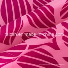 Tissu en poudre de coton rouge poli et rose pour vêtements pour dames