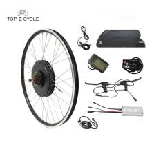 kit eléctrico parte rueda 20 '' - 28 '' tamaño de la rueda bicicleta eléctrica kit de conversión para bicicletas eléctricas diy