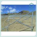Экструзионные алюминиевые кронштейны панели солнечных батарей для