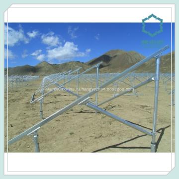 Алюминиевые панели солнечных батарей монтажная структура 6000 серии