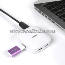 4-port High speed USB2.0 Hub with date transfer up to 480Mbps compatible