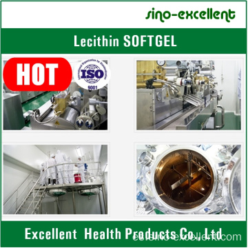 Lecitina productos de salud softgel