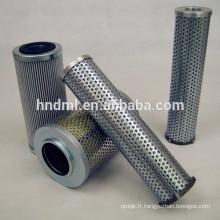Filtre FUIDTECH WASSENBERG, élément de filtre à huile D-41849, cartouche filtrante en acier inoxydable