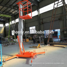 Elevador vertical de hombre de 6 m.