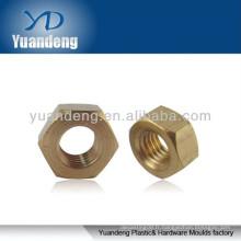 Ecrous hexagonaux en laiton / rondelle en laiton / entretoise en laiton / boulon hexagonal en laiton / écrou en cuivre