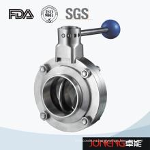 Сварной санитарный клапан-бабочка из нержавеющей стали (JN-BV3001)