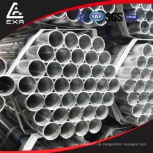 China Großhandel Webseiten vor galvanisierten kreisförmigen Stahl imc Rohr