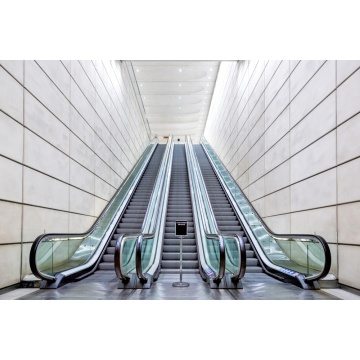 Escalator commercial automatique pour centre commercial