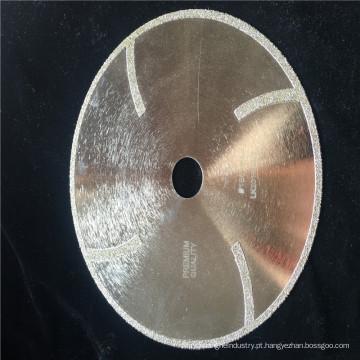 Lâmina de serra galvanizada 180mm do diamante, lâmina da gota da tela