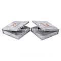 Marble Style Single Colour Makeup Eyeshadow Palette Packaging Paper Box