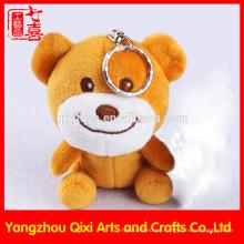 Hecho en China al por mayor mini oso de peluche llavero lindo felpa rellenada oso llavero