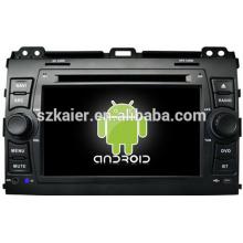 HIFI control inteligente android 4.2 car dvd para Toyota Prado 120 con GPS / Bluetooth / TV / 3G / WIFI