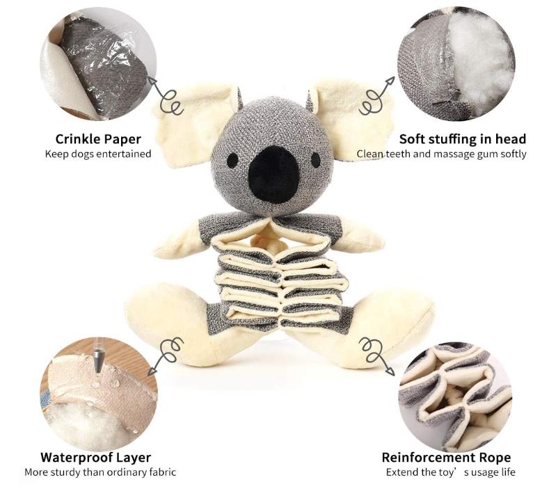 Dog Training Plush Toy