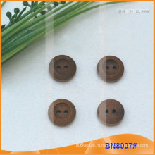 Естественные деревянные кнопки для одежды BN8007