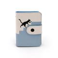 Benutzerdefinierte niedliche Katze Mosaik PU Kartenhalter