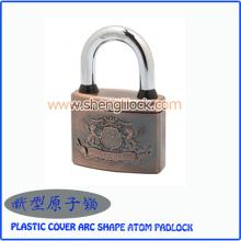 Cadeado superior do átomo da forma do arco da tampa do plástico da segurança