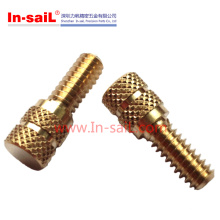 2016 Wholesale China Supplier Brass Knurled Insert Studs Manufacturer