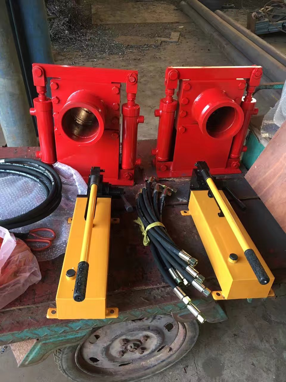 Concrete Pump Semic Hydraulic Shut Off Valve