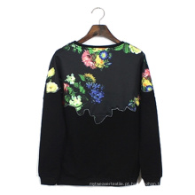 As meninas populares disponíveis do OEM vestem o mini Hoodie Fleece-Alinhado