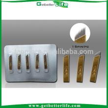 Aguja de bordado de cejas 15 pin por mayor