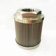 Filtro de aço inoxidável totalmente utilizado 316 material, rosca de 1/2 polegada