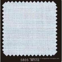 Doublure en fusible tissé double DOT de couleur blanche (blanc 5805)