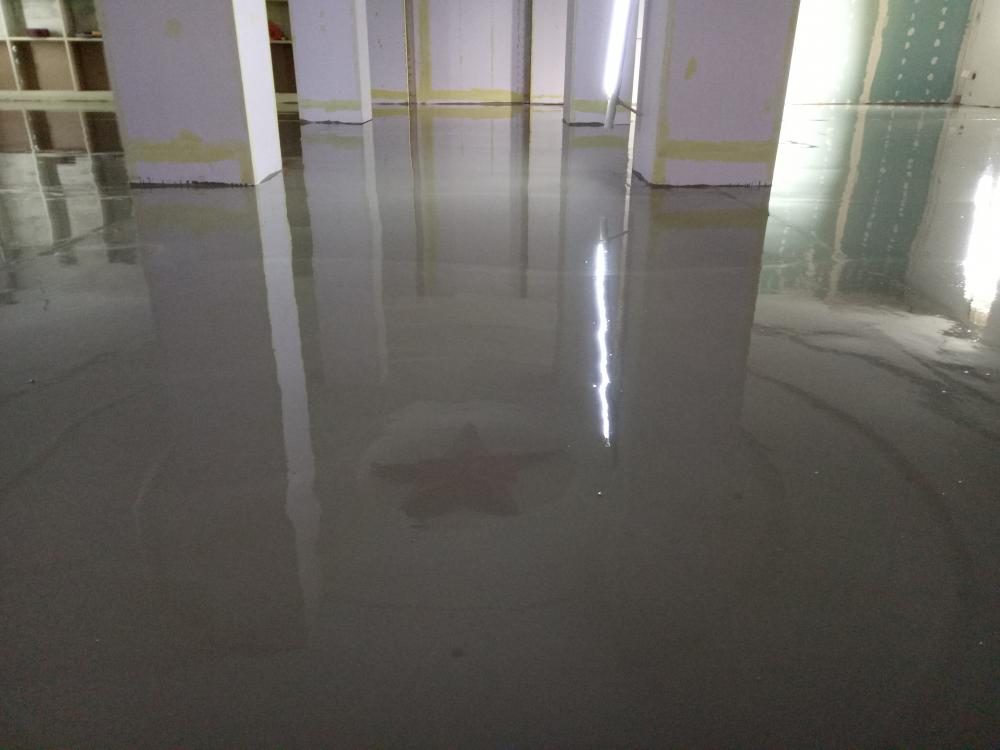 Indoor Solvent Free Epoxy Self Leveling Intermediate Coating