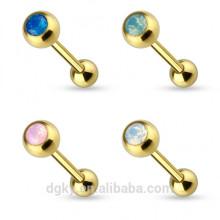 Gold PVD bague en lingette opale KaiYu Jewelry