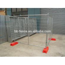 Высокое качество ПВХ покрытием временный забор безопасности