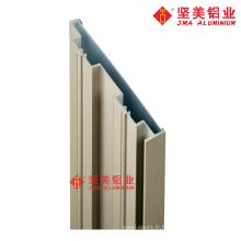 Profil d'extrusion de cadre de porte en aluminium