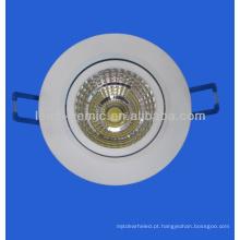 Downlight led para requisitos de iluminação de escritório