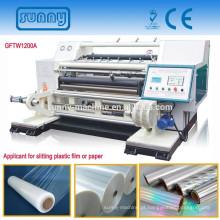 folha de alumínio de alta velocidade de 1200mm corte máquina ou máquina cortadora