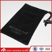 Customized Soft Microfiber Drawstring Device Cloth Pouch