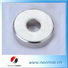 Imán del anillo radial del neodimio