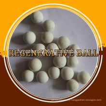 High regenerative ball for support bed