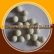 Forno de aquecimento usado Mullite esfera regenerativa de cerâmica