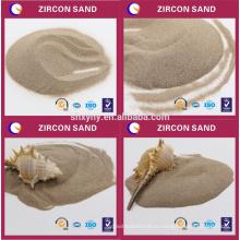 Высокая тугоплавкость циркон песок просто на куски