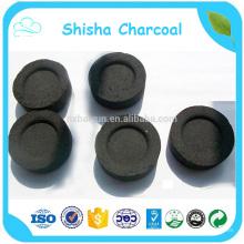 Atacado Coconut Shell 33mm Hookah Charcoal Para Arab Shisha Smoking