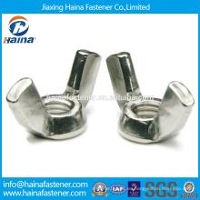 En existencia Proveedor chino DIN315 Tuerca de acero inoxidable.