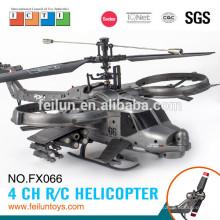 2.4 G 4CH ABS материал один пропеллер военных моделирования rc беспилотный вертолет с гироскопом сертификат CE/FCC/ASTM