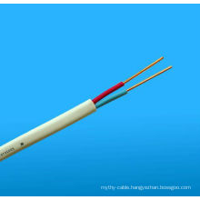 Twin (Red/Black) cable and Twin Active (Red/White) cable Flat TPS Cables